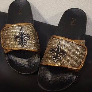 New Orleans saints slippers
